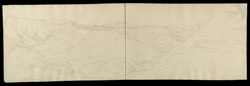 Panorama of hills. ff.21v-22